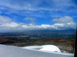 Skats no augšas uz Honolulu jeb Oahu lielāko pilsētu!