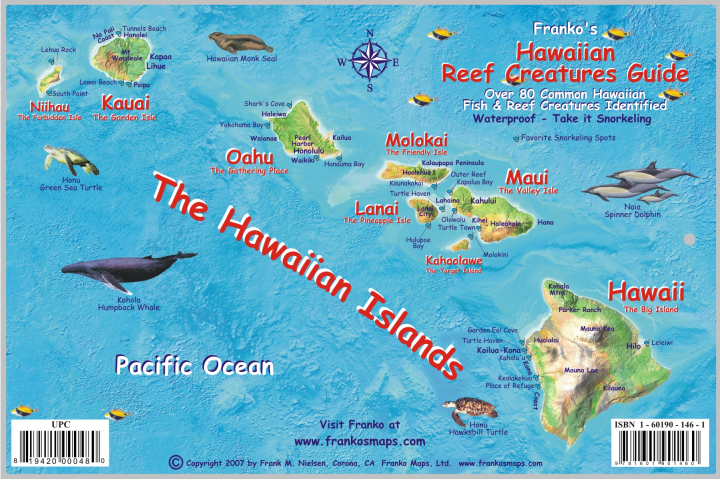 hawaiifishcardhawaiianislands2007side1